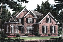 Architectural House Design - Traditional Exterior - Front Elevation Plan #927-10