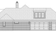 Country Style House Plan - 3 Beds 2.5 Baths 2775 Sq/Ft Plan #932-93 Exterior - Other Elevation