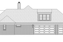 House Plan Design - Country Exterior - Other Elevation Plan #932-93