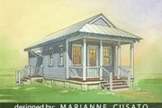 Cottage Style House Plan - 1 Beds 1 Baths 576 Sq/Ft Plan #514-6 Photo