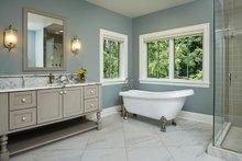 Craftsman Interior - Master Bathroom Plan #928-312