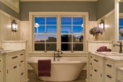 European Style House Plan - 3 Beds 2.5 Baths 3715 Sq/Ft Plan #51-370 Interior - Master Bathroom