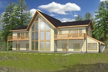 House Plan Design - Modern Exterior - Front Elevation Plan #117-153