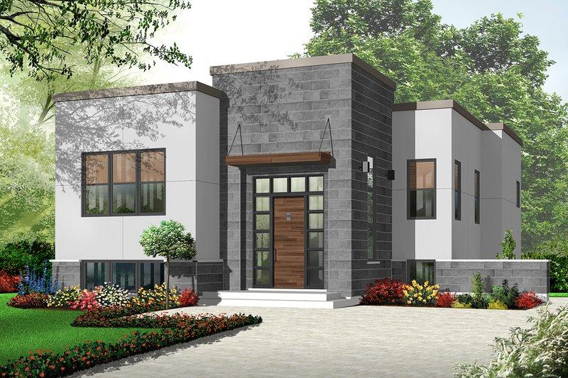Dream House Plan - Modern Exterior - Front Elevation Plan #23-2226