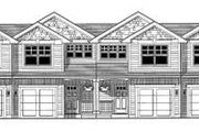 Craftsman Style House Plan - 3 Beds 2.5 Baths 5184 Sq/Ft Plan #53-399 Exterior - Front Elevation