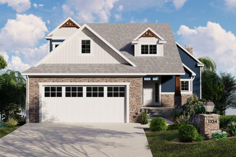 Home Plan - Beach Exterior - Front Elevation Plan #1064-97