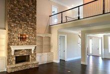 Farmhouse Interior - Family Room Plan #437-92