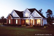 Country Style House Plan - 4 Beds 3 Baths 2163 Sq/Ft Plan #929-470 Exterior - Front Elevation