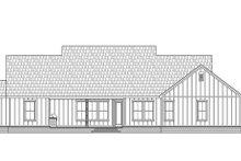 Architectural House Design - Farmhouse Exterior - Rear Elevation Plan #1074-36