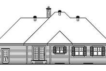 Traditional Exterior - Rear Elevation Plan #23-137