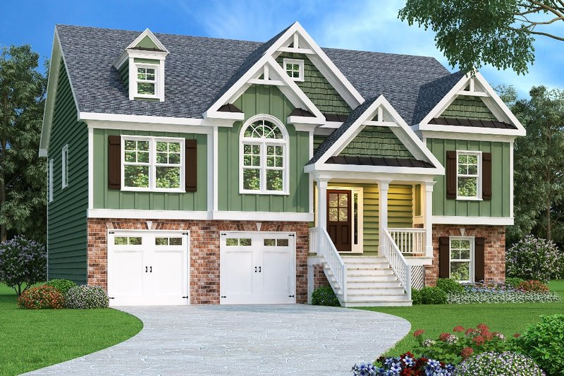 Traditional Exterior - Front Elevation Plan #419-113 - Houseplans.com