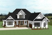 Farmhouse Style House Plan - 3 Beds 2.5 Baths 2928 Sq/Ft Plan #898-40 Exterior - Front Elevation