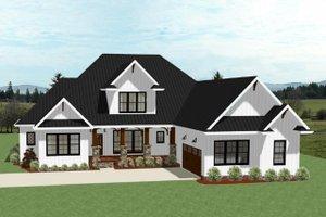 Farmhouse Exterior - Front Elevation Plan #898-40