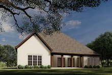 House Plan Design - European Exterior - Rear Elevation Plan #923-28