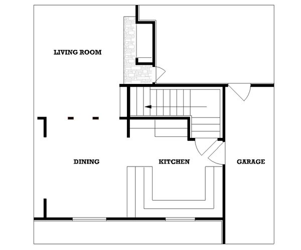 Traditional Floor Plan - Other Floor Plan Plan #45-106