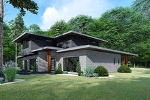 Architectural House Design - Contemporary Exterior - Other Elevation Plan #17-3426