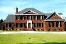 Architectural House Design - Southern Exterior - Front Elevation Plan #137-170