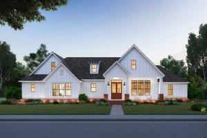 Farmhouse Exterior - Front Elevation Plan #1074-7