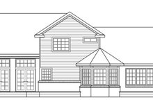 Farmhouse Exterior - Rear Elevation Plan #124-189