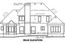 Traditional Exterior - Rear Elevation Plan #20-1031