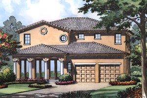 House Design - European Exterior - Front Elevation Plan #417-356