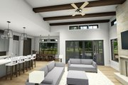 Farmhouse Style House Plan - 4 Beds 3 Baths 2690 Sq/Ft Plan #1069-20 Interior - Other