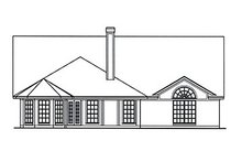 Home Plan - Country Exterior - Rear Elevation Plan #42-387
