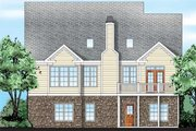 Traditional Style House Plan - 3 Beds 2.5 Baths 1975 Sq/Ft Plan #927-42 Exterior - Rear Elevation