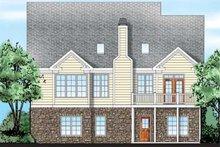 House Plan Design - Traditional Exterior - Rear Elevation Plan #927-42