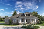 Prairie Style House Plan - 3 Beds 3.5 Baths 2476 Sq/Ft Plan #930-463 Exterior - Front Elevation