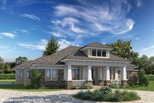 Prairie Exterior - Front Elevation Plan #930-463