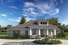 Architectural House Design - Prairie Exterior - Front Elevation Plan #930-463
