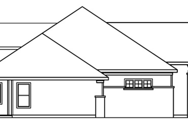 Traditional Exterior - Other Elevation Plan #124-541 - Houseplans.com