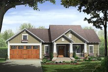 Home Plan - Craftsman style home Plan 21-246 front elevation