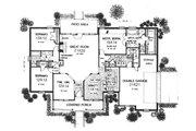 Farmhouse Style House Plan - 3 Beds 2 Baths 2104 Sq/Ft Plan #310-610 Floor Plan - Main Floor Plan