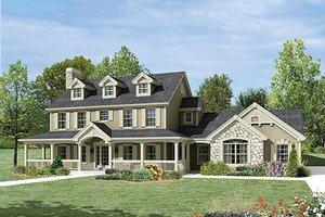 Farmhouse Exterior - Front Elevation Plan #57-389