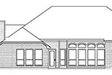 House Design - European Exterior - Rear Elevation Plan #84-251