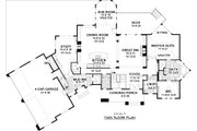 European Style House Plan - 5 Beds 4.5 Baths 6690 Sq/Ft Plan #51-338 Floor Plan - Main Floor Plan