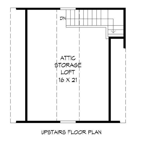 Country Floor Plan - Upper Floor Plan Plan #932-128