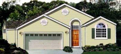 Traditional Exterior - Front Elevation Plan #3-121