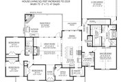 Farmhouse Style House Plan - 4 Beds 2.5 Baths 2232 Sq/Ft Plan #1074-31