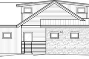 Contemporary Style House Plan - 4 Beds 3.5 Baths 2911 Sq/Ft Plan #895-27 Exterior - Other Elevation