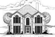 European Style House Plan - 4 Beds 2.5 Baths 2653 Sq/Ft Plan #317-138