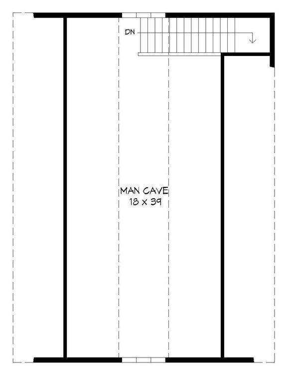 Country Floor Plan - Upper Floor Plan Plan #932-132