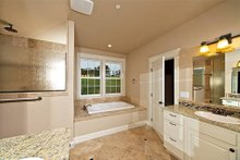 Home Plan - Master Bathroom - 2000 square foot Craftsman home
