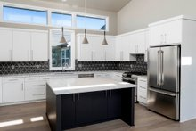 Modern Interior - Kitchen Plan #895-120