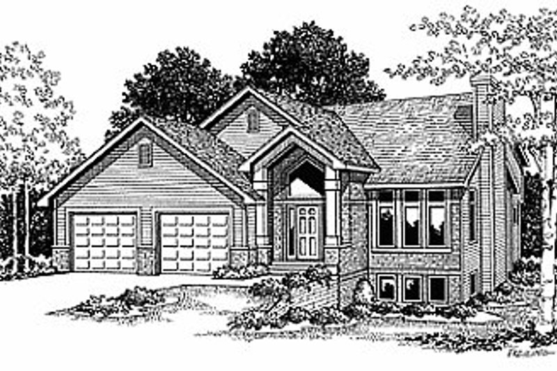 Traditional Exterior - Front Elevation Plan #70-245