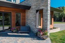 Contemporary Exterior - Outdoor Living Plan #451-24