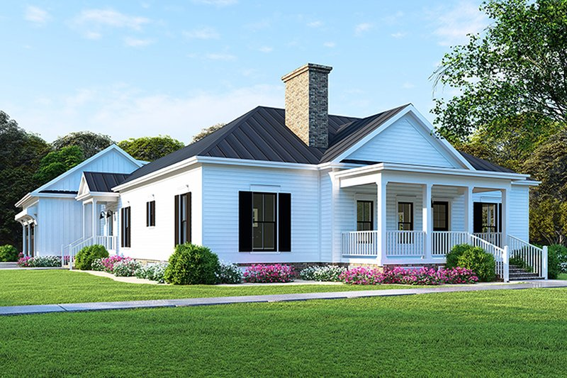 Farmhouse Exterior - Front Elevation Plan #923-116