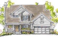 Home Plan - Craftsman Exterior - Front Elevation Plan #20-250